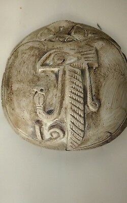 Incian Egyptian Scarab Beetle in carved seal