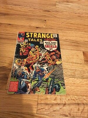 Strange Tales 142 March 1966 Solid Reader Copy. Great Price! Fully Intact!