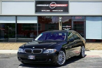 2007 BMW 7-Series  75k low mile free shipping warranty 750i 2 owner cheap luxury finance clean