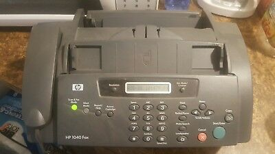 HP 1040 fax machine , print, scan/fax, copy, telephone