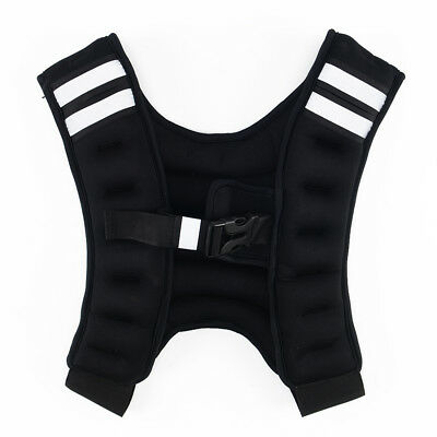 Weighted Vest Home Gym Running Fitness Weight loss Strength Jacket 5, 8 & 10kg