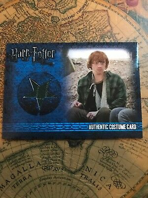 Harry Potter Costume Card Ron Weasley