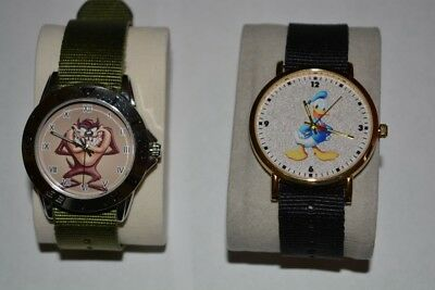 2 Watches Taz and Donald Duck