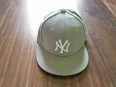 NEW ERA Cap New York Yankees 39Thirty grau S/M WIE NEU!
