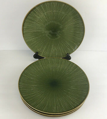 "Target Home Lotus Grove Dinner Plate Green 11-1/2"" Set of 4"