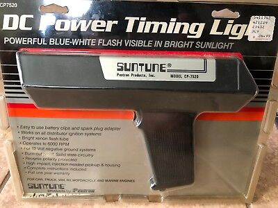 Suntune DC Power Timing Light CP7520 Never Used