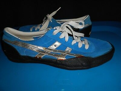 meilleur service f3f2c 87902 VTG 70S 80S Asics Tiger Shoes Sz 7 Made In Japan Onitsuka Blue Read