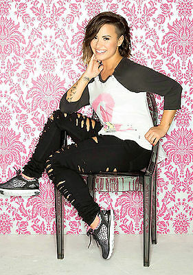 A3 SIZE - DEMI LOVATO 1 American Singer, Actress   GIFT / WALL DECOR ART POSTER