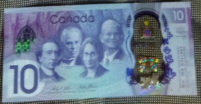 2017 Canada's 150th Anniversary $10 Banknotes UNC