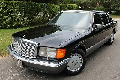1990 Mercedes-Benz 300 SEL Series 300sel nur 82k Original Low Miles
