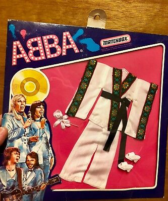 Abba Matchbox Signed Japanese Stage Costume