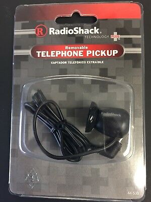 Radio Shack Telephone Pickup W/suction cup-record Phone Calls 44-533 NEW