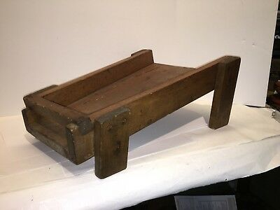 Primitive Antique Butter Worker - Late 19th Century