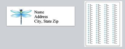 c 830 Personalized Return Address Labels Dragonfly Buy 3 get 1 free