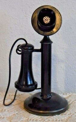 Western Electric Company Non Dialer 20AL Candlestick Telephone - Vintage Wired