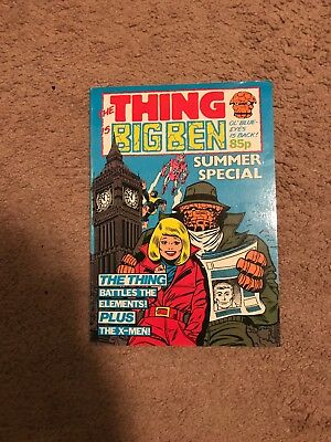 The Thing Is Big Ben Summer Special 1984 - VF