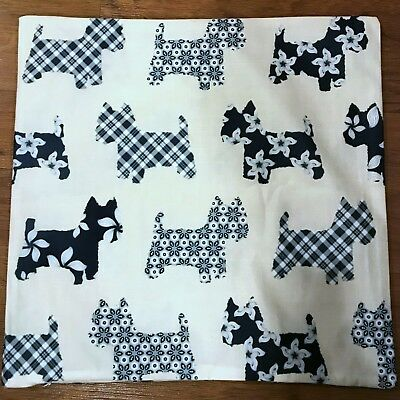 Cushion/Pillow Cover with Cairn Terrier Shapes -New