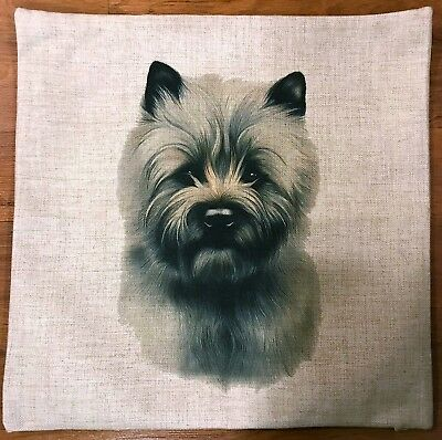 Cairn Terrier Cushion Cover  -New