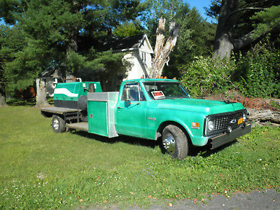 1972 Chevrolet C/K Pickup 3500  Chevy Air Compressor Truck