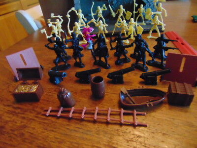 lot of True Heroes Pirates skeletons orcs + more and Heroscape Mimring Dragon