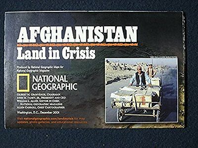 National Geographic Map: Afghanistan and Pakistan, December 2001