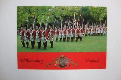 400) Williamsburg Virgina ~ Royal Governors British Military Army ~ The Redcoats