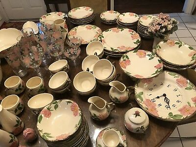 103 Pieces Of Desert Rose China