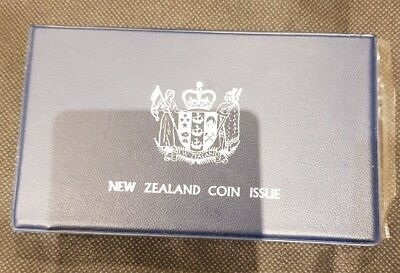 New Zealand 1975 Proof Coin Set