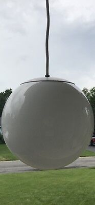 Vintage Mid Century Modern Space Age Globe Pendant Chandelier Lighting
