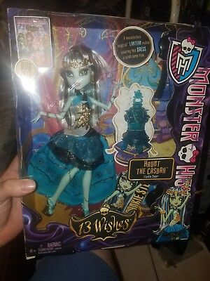Monster High - 13 Wishes - Haunt the Casbah - Frankie Stein New In Box! SHIPFAST