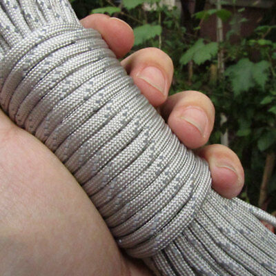 Paracord 550 Parachute Cord Lanyard Rope Mil Spec 100FT Survival Rope 9 Strand^