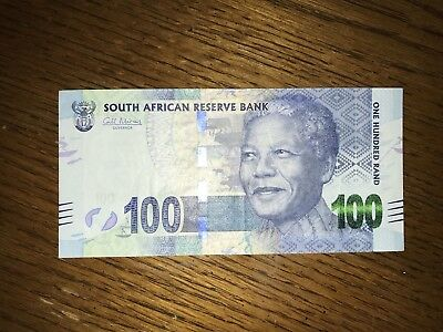 100 Rand SOUTH AFRICA 🇿🇦 banknotes world money , world currency