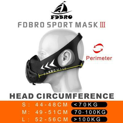High Altitude Training Sport Mask 3.0 Fitness,Football,Boxing,Soccer, Martial...