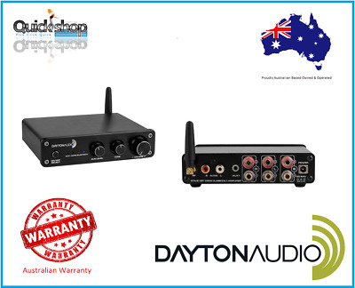 Dayton Audio DTA-2.1BT, 200W Class D 2.1 Power Stereo Amplifier with Bluetooth