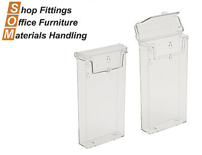 (Trifold) Outdoor Acrylic Pamphlet Plastic Brochure Holder 1/3 Dl Display