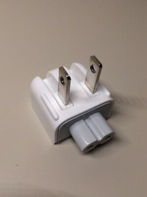 OE Apple Macbook Pro Ac Power Adapter Charger Wall Plug Duck Head For 110