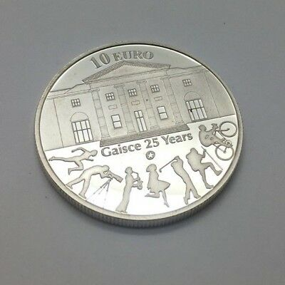 Ireland 10 euro 2010 gaisce 25 years 1oz Silver Proof Coin