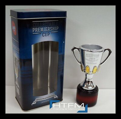 Collingwood 2010 Premiers AFL OFFICIAL Premiership Replica Cup in Collectors Tin