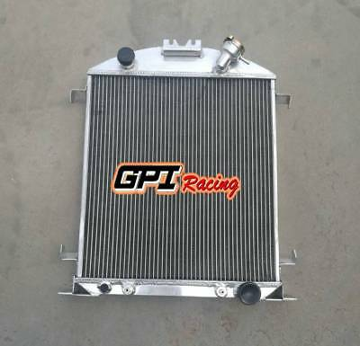 aluminum radiator for Ford model A w/Chevy 350 V8 engine A/T 1928-1929 56MM