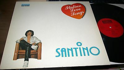 Lp Santino Caliti Caliri Italian Love Songs Italo Disco Pop ℗ 1982 Top