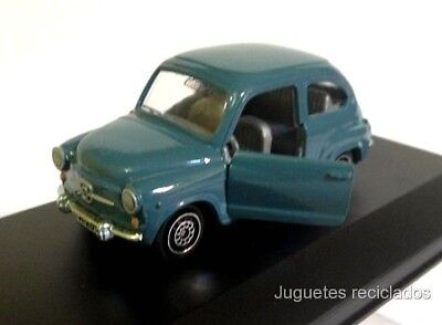 1/43 Seat 600 GUISVAL Made in Spain Diecast miniatura metal escala antiguo