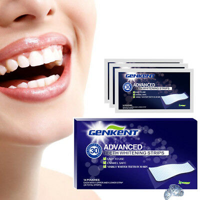 28 Professional Teeth Whitening Strips (14 Pouches)