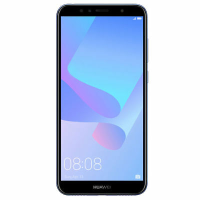 Huawei Y6 2018 16GB Blue 5.7' NUOVO ITALIA Quad Core 4G LTE Smartphone Android