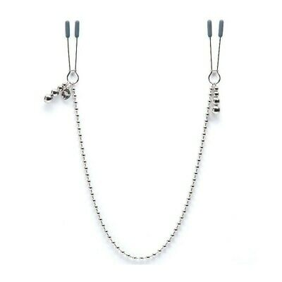 Fifty Shades Of Grey Darker At My Mercy Beaded Chain Nipple Clamps Paq.discreto+