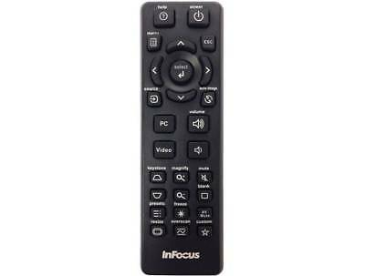 Genuine Infocus Projector Remote For IN8601 IN8602 LP120 LP1200 LP130