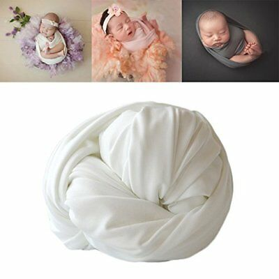 Newborn Baby Photo Props Blanket Backdrop Cotton Stretch Without Wrinkle Wrap