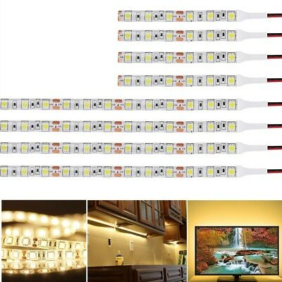 1-100pcs 10cm 30cm DC 12V LED Strip 5050 SMD Strips Light Warm White Waterproof