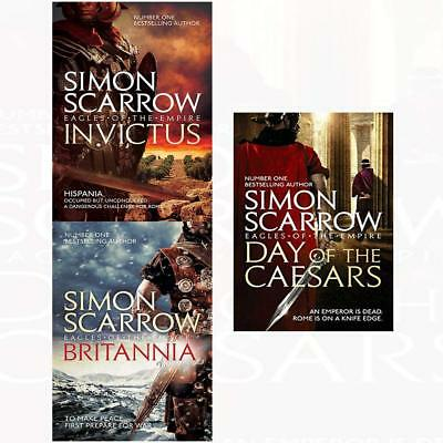 Eagles of the Empire Series Simon Scarrow Collection Britannia 3 Books Set NEW