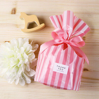 Candy Stripe Paper Pick N Mix Sweet Bag Gift Party Bags Wedding Candy Gift Bags