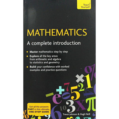 Teach Yourself - Mathematics - A Complete Introduction, Non Fiction Books, New